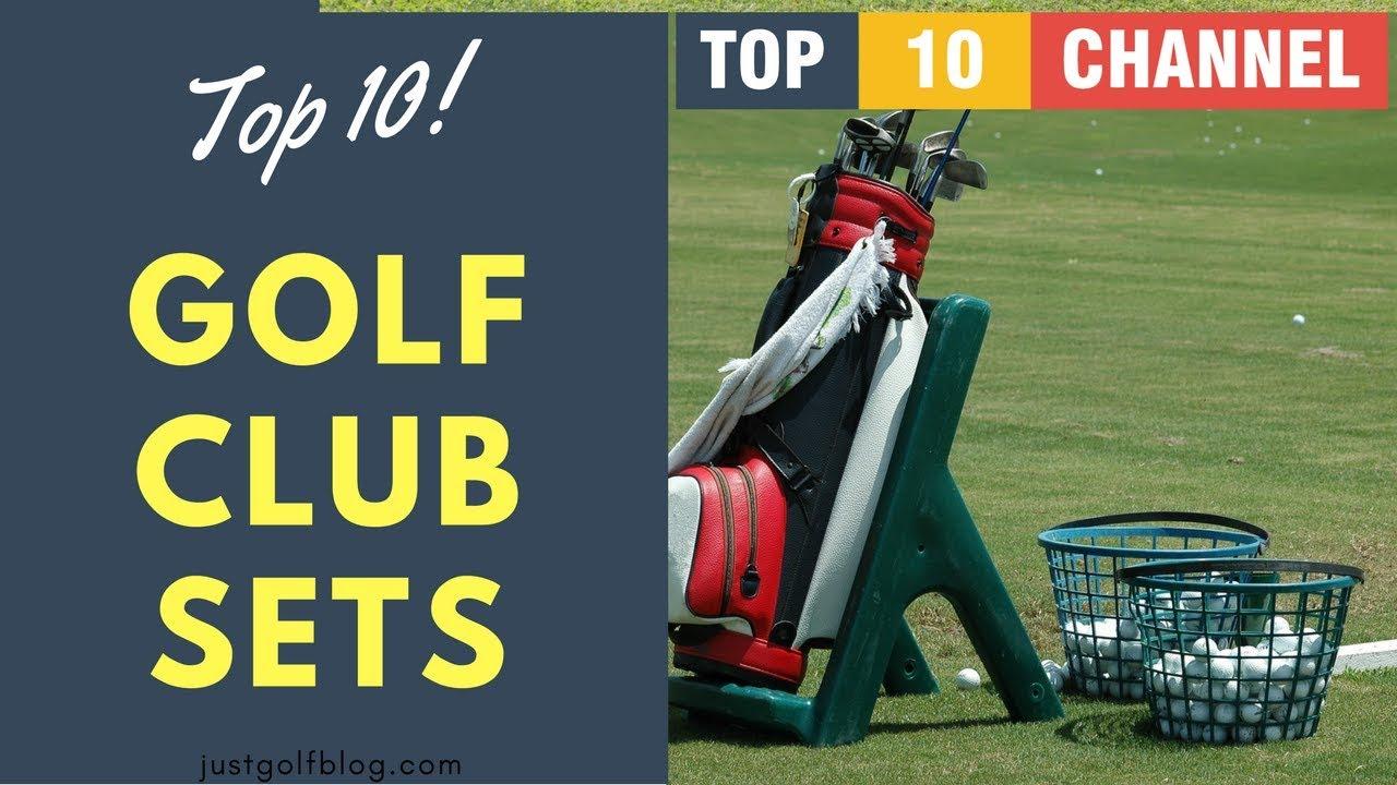 top 10 golf club sets 2018