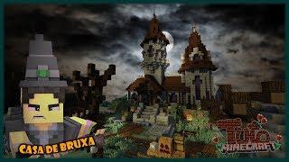 DICAS DE CONSTRUÇÃO: Casa Assombrada de Bruxa [MCPE e PC]