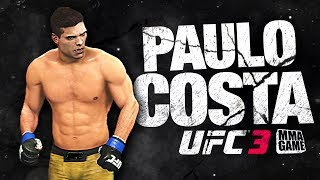 UFC 3 - PAULO COSTA - KNOCKOUT Highlights
