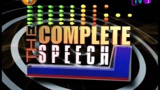 Complete Speech - 03rd March 2016