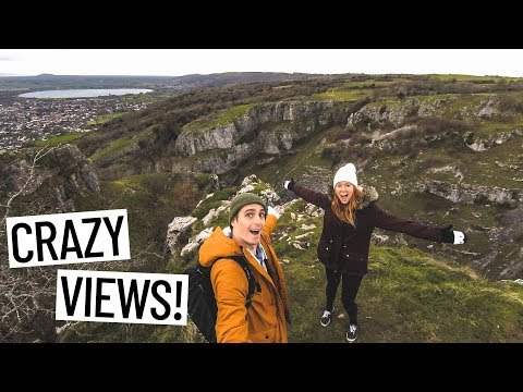 Hiking The BIGGEST GORGE IN THE UK! (Cheddar, England)