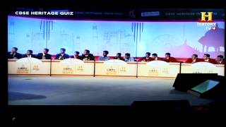 CBSE Heritage India Quiz  - 2014 National Semi Finals - 17th January 2015