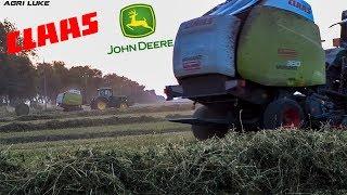 Video John Deere 6810 6920 | Claas Variant 380 | Grass Baling | Pressatura Fieno | Notturna download MP3, 3GP, MP4, WEBM, AVI, FLV November 2017