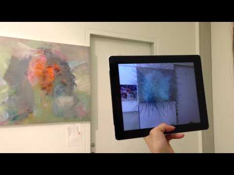 Augmented Reality - Smart Device Test - Interactive Art