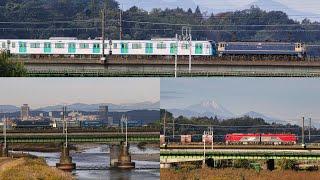 武蔵野線貨物列車 西武40000系甲種輸送ほか 2020年11月