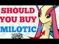 POKEMON DUEL SHOULD YOU PURCHASE MILOTIC + THE ULTIMATE COUNTER TO MILOTIC | TRAILER BREAK DOWN