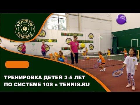 Видео уроки для детей большой теннис