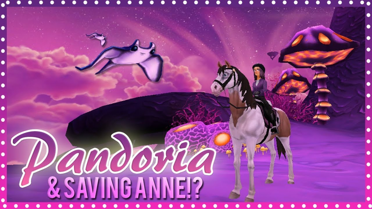 Star Stable Online 116 Pandoria Amp Saving Anne Youtube