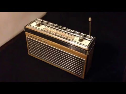 Antiquenology Testing Vintage German Schaub Lorenz Europa Radio