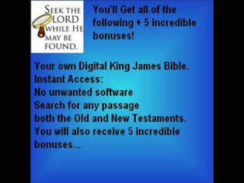 King James Bible Download + Bonuses