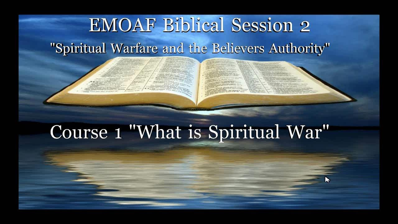 Live on-line Bible Class Course Sessions - EMOAF Church