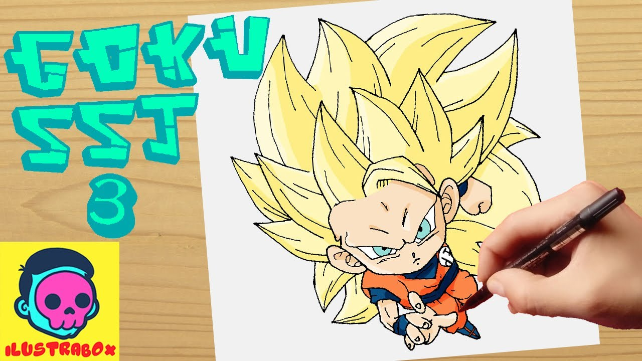 Como Dibujar Goku Fase 3 How To Draw Goku Phase 3 Youtube