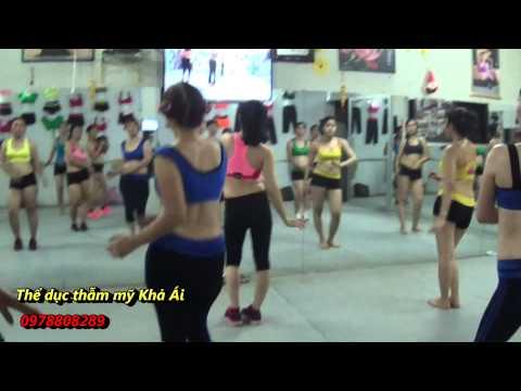 Bài Thể dục thẫm mỹ tại nhà Khả Ái