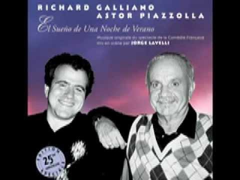 Richard Galliano & Astor Piazzolla - Le Songe d'une nuit d'été (Ouverture)