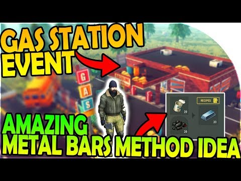 MULTIPLAYER GAS STATION CHOPPER EVENT, GREAT METAL BAR IDEA- Last Day On Earth Survival 1.6.7 Update