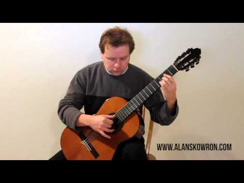 Alan Skowron performs Study #3 in A by Matteo Carcassi