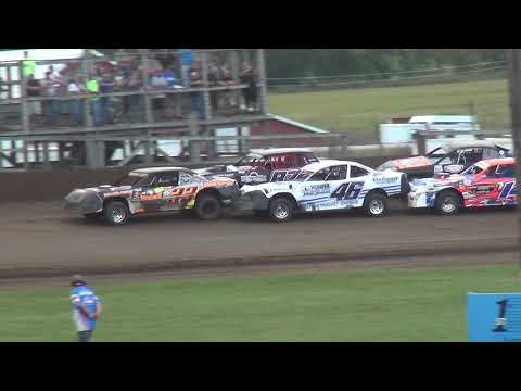 USRA Stock Car Heat 1 Fayette County Speedway West Union ,IA 9/1/19
