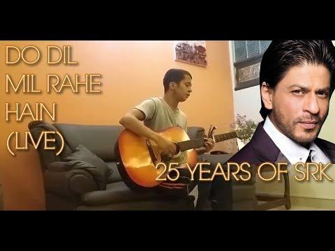 Do Dil Mil Rahe Hain | Cover | Anzik Majid | 25 Years of SRK