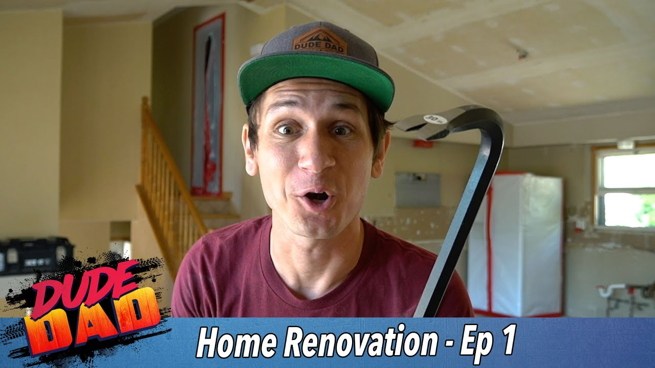 DEMO DAY! - Our Home Renovation - Ep. 1
