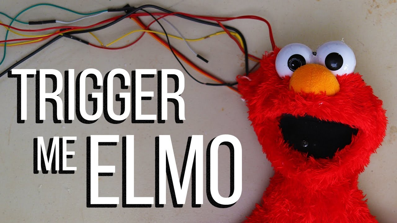 Trigger Me Elmo World S First Race Detecting Toy