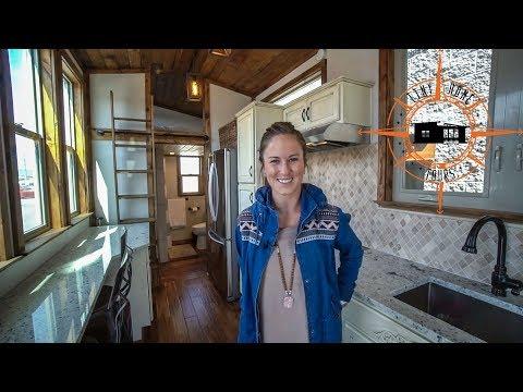 Perfect Ready To Move In Double Loft Tiny House ~ Alpine Tiny Homes