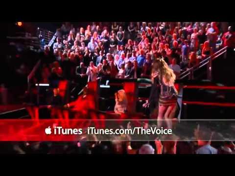 Juliet Simms-'Roxanne' (The voice) - YouTube