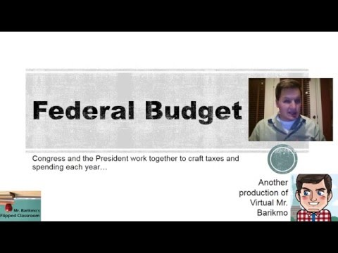Congress and the Federal Budget Explained