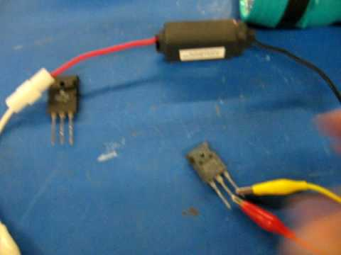 Testing Mosfets