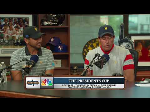 Pro Golfers Jason Day & Phil Mickelson on The Dan Patrick Show | Full Interview | 9/26/17