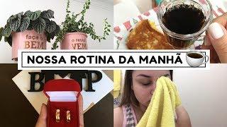 CAFÉ DA MANHÃ, CUIDANDO DAS PLANTINHAS, NOSSAS ALIANÇAS E MAIS ♥