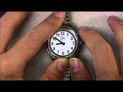Dual Voice Talking Watch Instructions