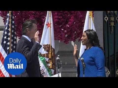London Breed sworn in as new mayor of San Francisco