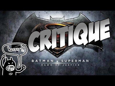 (SPOILERS)Critique - Batman V Superman
