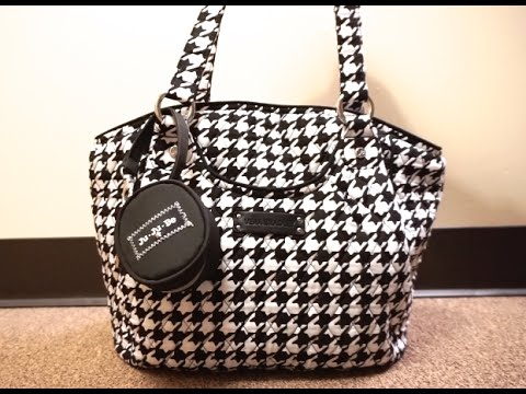 Review  Vera Bradley Glenna Packed as a Diaper Bag With Ju-Ju-Be ... fb6358d70a198
