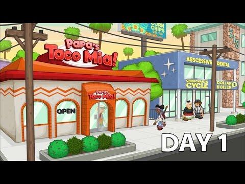 Papa's Taco Mia HD Day 1 - iOS/Android Gameplay