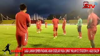 Official Training Jelang Laga Lawan Semen Padang