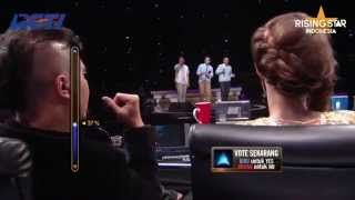 "Bertiga ""That's Why (You Go Away)"" Michael Learns To Rock - Rising Star Indonesia Eps.13"