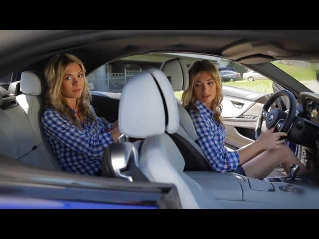 "BMW M6 CABRIO: Тест-драйв в программе ""Москва рулит""."