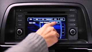 2013 and 2014 CX-5 Bose Touch Screen Audio Controls and Rearview Camera Tutorial