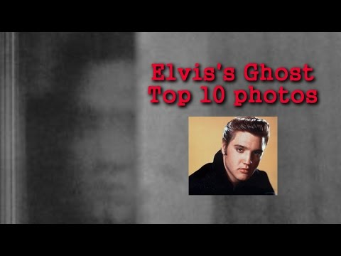 Ghost of Elvis: TOP 10 GHOST PHOTOS of ELVIS PRESLEY!