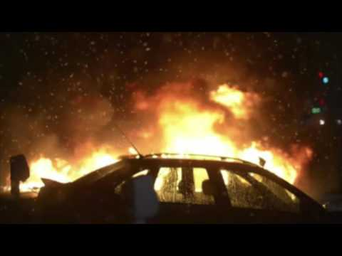 SWEDEN BURNING: Stockholm in flames as car fire epidemic rages
