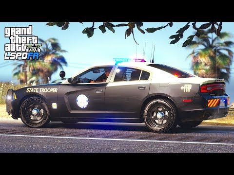 GTA 5 - LSPDFR Ep426 - Florida Highway Patrol Troopers in Action (FHP)!!
