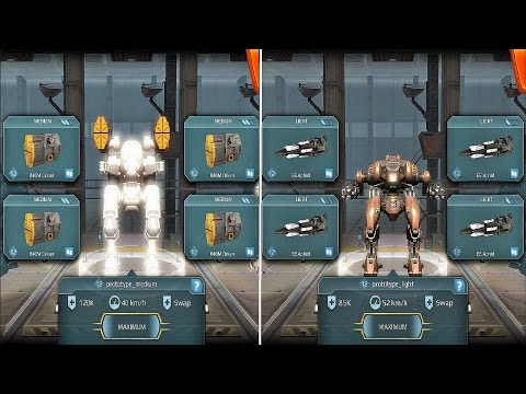 War Robots [2.3] Test Server - NEW Light / Medium Prototype Robot Gameplay
