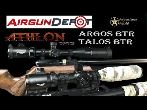 Product News Athlon Optics Argos and Talos BTR first focal plane scopes