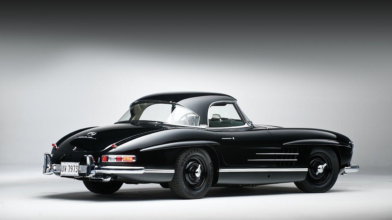 1961 mercedes benz 300 sl roadster youtube. Black Bedroom Furniture Sets. Home Design Ideas