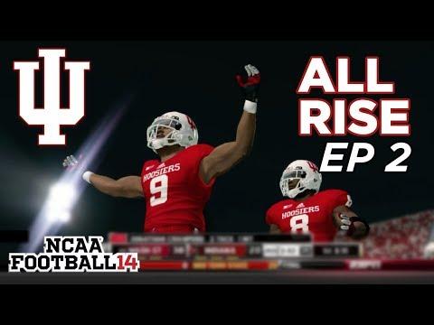 NCAA Football 14 Dynasty   Indiana Hoosiers - CANT STOP A NOSEBLEED!! SHOOTOUT -  EP 2