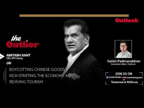 PROMO | The Outlier Ep 5 - Amitabh Kant, CEO, NITI Aayog
