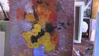 Научиться рисовать, писать как художник Ван Гог, букет цветов, художник Сахаров(ВСЕ НОВОЕ НА http://saharov.tv Официальные сайты: http://artsaharov.com http://faniyasaharova.com http://polinasaharova.com http://ladasaharova.com ..., 2014-05-10T12:22:52.000Z)