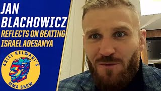 Jan Blachowicz reflects on beating Israel Adesanya, getting the respect he deserves | ESPN MMA