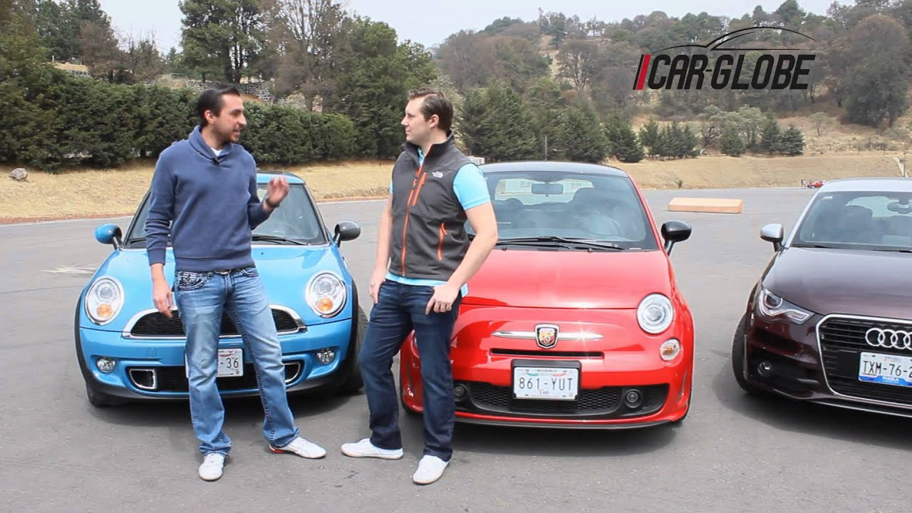 Comparativa Fiat 500 Abarth Vs Audi A1 Vs Mini Cooper S